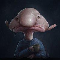 Blobfish by Daniel Joel Newman/Src; DeviantArt